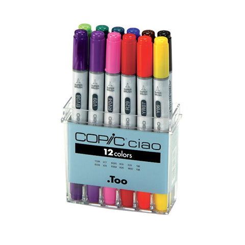 Copic Ciao : Set of 12 colours