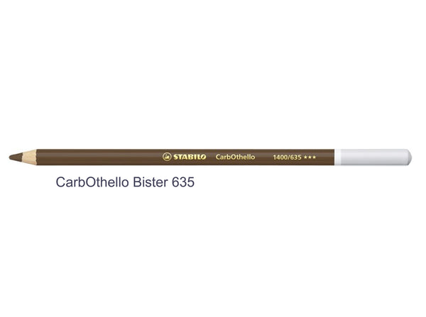 bister 635 STABILO CarbOthello chalk-pastel pencils