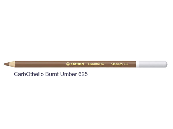 Burnt umber 625 STABILO CarbOthello chalk-pastel pencils