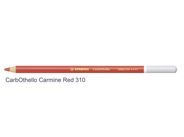 Carmine red 310 STABILO CarbOthello chalk-pastel pencils