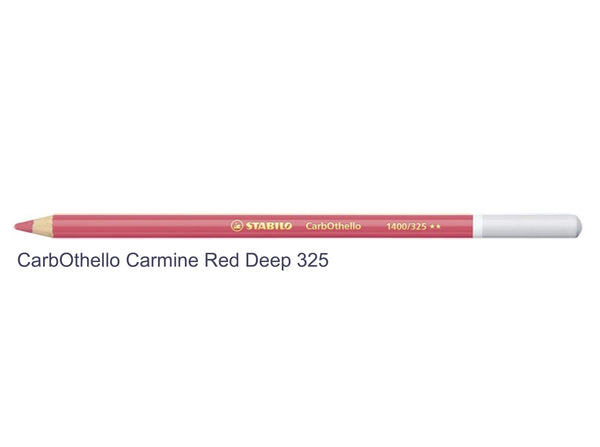 Carmine deep red 325 STABILO CarbOthello chalk-pastel pencils