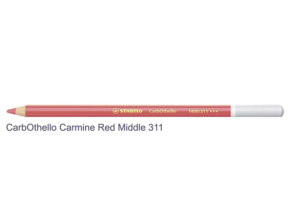 Carmine Red Middle 311 STABILO CarbOthello chalk-pastel pencils