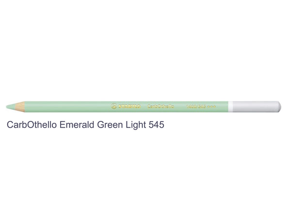 emerald green light 545 STABILO CarbOthello chalk-pastel pencils