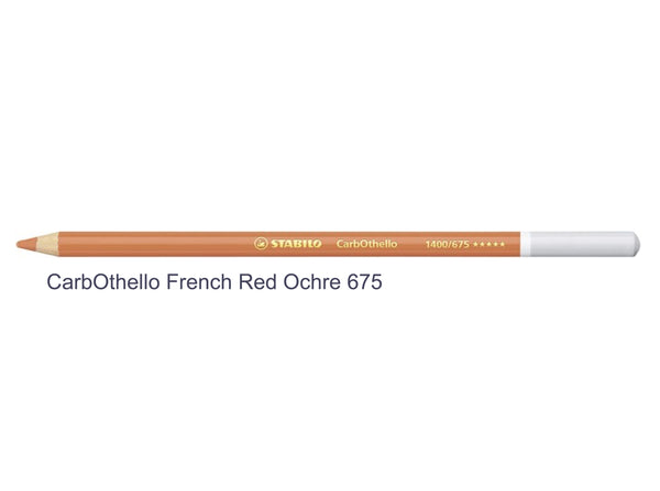 French red ochre 675 STABILO CarbOthello chalk-pastel pencils