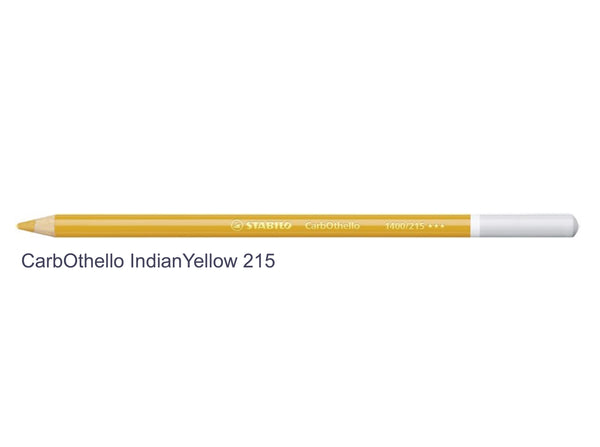 Indian yellow 215 STABILO CarbOthello chalk-pastel pencils