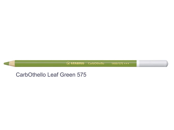 Leaf green 575 STABILO CarbOthello chalk-pastel pencils