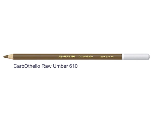 Raw Umber 610 STABILO CarbOthello chalk-pastel pencils