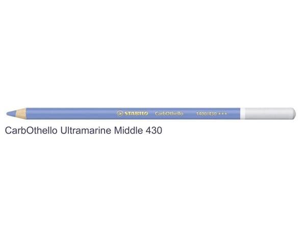 Ultramarine Middle Blue 430 STABILO CarbOthello chalk-pastel pencils