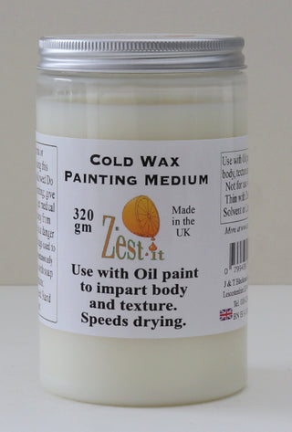 Zest-it :  Cold Wax Painting Medium.320 gm.