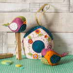 Corinne Lapierre : Birdhouse and Birds Felt Craft Kit PaperStory