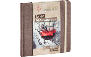 Hahnemühle Toned Beige Watercolour Book 14 x 14 cm  x 60 pages