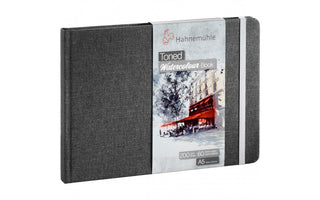 Hahnemühle Toned Grey Watercolour Book A5  x 60 pages