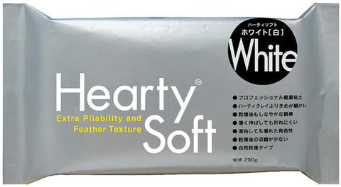 Hearty Soft White Modelling clay : 200 g : Padico