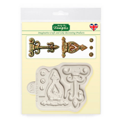Katy Sue Hinges and Screws Silicone Mould