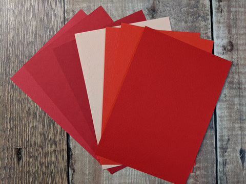 Poppy collection Paper 160 gsm : 7 shades