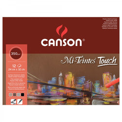 Canson Mi Teintes Touch : Pastel Paper : 350 gsm : A3