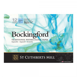 Bockingford : Watercolour Paper Glued Pad 300gsm  : NOT/Cold Press : A3