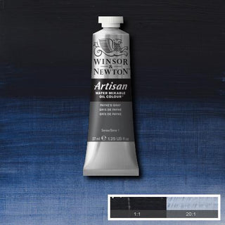 Winsor & Newton Artisan Oil : Water Mixable Oil paint 37 ml :Payne's grey