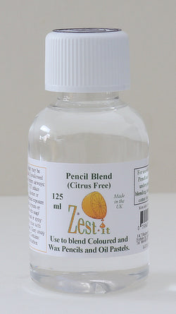 Zest-it: 125ml bottle for blending coloured and pastel pencils ( Citrus Free )