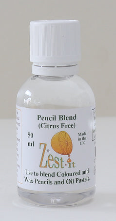 ZEST IT : 50 ml bottle for blending coloured and pastel pencilsZest-it : 50 ml bottle for blending coloured and pastel pencils