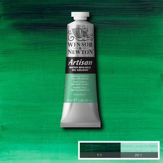 Winsor & Newton Artisan Oil : Water Mixable Oil paint 37 ml : Phthalo Green ( Yellow shade )