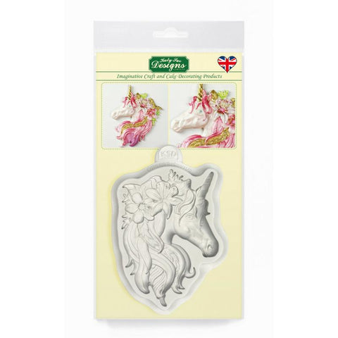 Katy Sue Unicorn silicone detailed mould (Free block of Fimo)