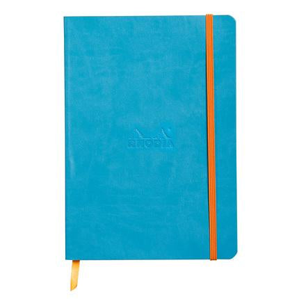 Rhodia Rhodiarama Softcover Dot book Planner A5 Turquoise
