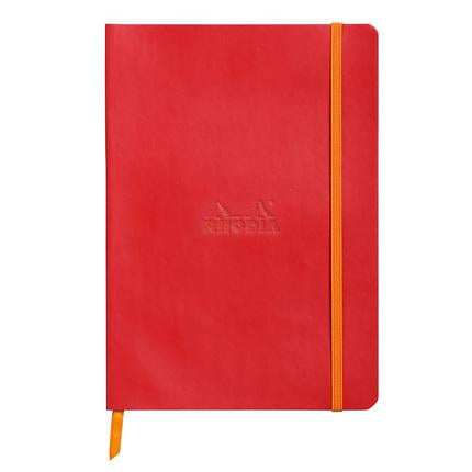 Rhodia Rhodiarama Softcover Dot book Planner A5 Poppy Red