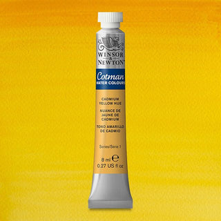 Winsor & Newton Watercolour Paint Cotman 8ml tube : Cadmium Yellow Hue
