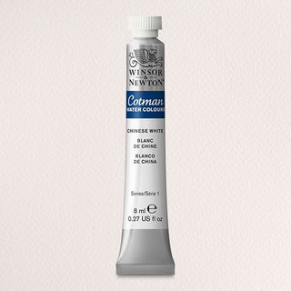 Winsor & Newton Watercolour Paint Cotman 8ml tube : Chinese White