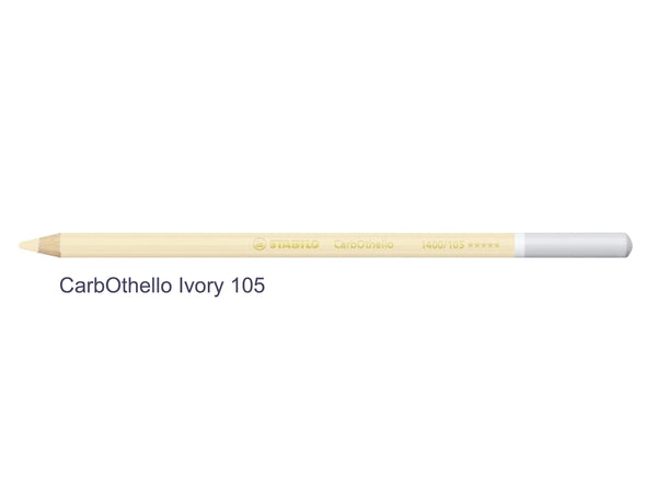 STABILO CarbOthello chalk-pastel pencils ivory 105
