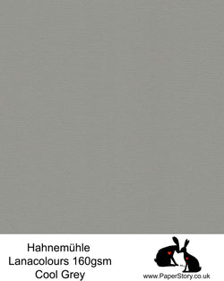 Hahnemühle Lana Colours cool grey, classic pastel hammered paper 160 gsm. Artist Premium Pastel and Papercutting Papers 160 gsm often described as hammered paper.