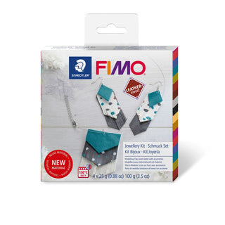Steadtler : Fimo Leather Effects Set : DIY Jewellery Kit