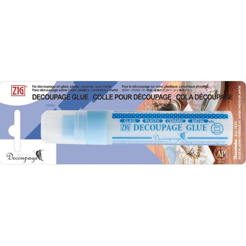 Zig Decoupage glue Suitable for Glass - Plastic - Ceramic - Metal