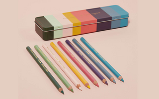 SUPRACOLOR Soft Aquarelle PAUL SMITH - Limited Edition tin and pencil set of 8