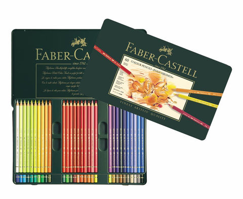 FABER CASTELL : Polychromos Pencil : Metal tin set 60