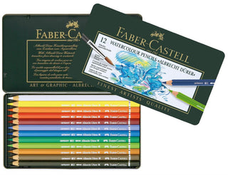 FABER CASTELL : Albrecht Dürer : Artists Watercolour Pencil Set : 12
