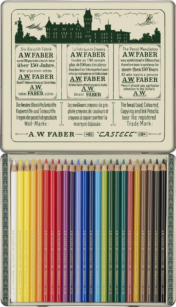 FABER CASTELL Polychromos Limited Edition 111th Anniversary set Artist Pencil set of 24