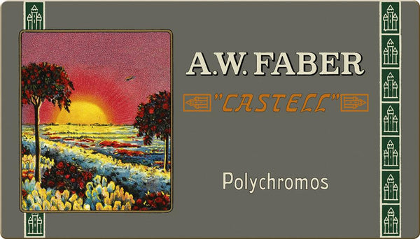 FABER CASTELL : Polychromos Pencil : Metal tin set 36 : Limited Edition 111th Anniversary set