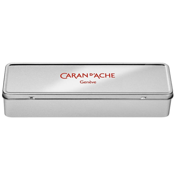 Caran D'Ache Graphite metal tin