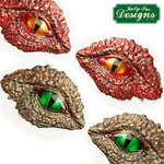 Katy Sue Dragon Eyes Silicone Mould ( Free block of Fimo )