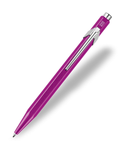 Caran d'Ache : Pop Line : Ballpoint pen and holder : Violet Metal X