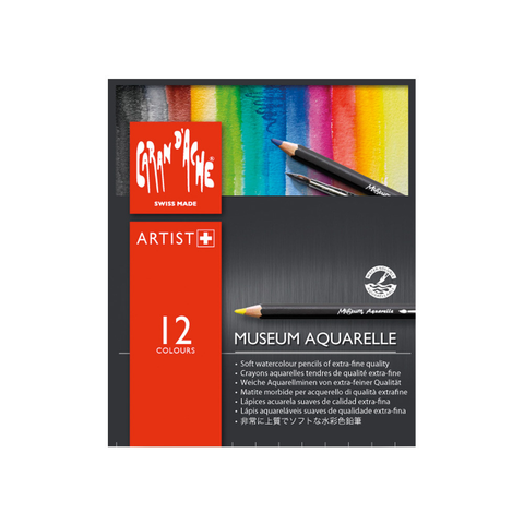 Caran d'Ache Museum Aquarelle pencil set of 12