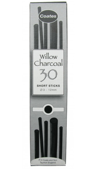Coates Willow Assorted Short Lengths Charcoal x 30