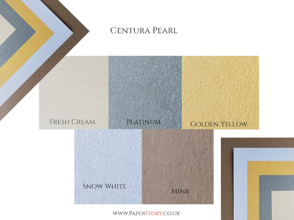 A4 Centura Pearl Pearlescent card single sided 310 gsm Mink