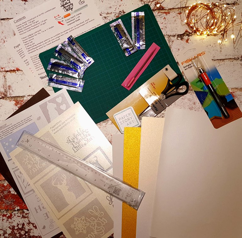 Paper cutting deluxe kit