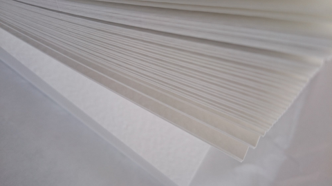 A4 : Hammered textured Paper 120 gsm : Brilliant White