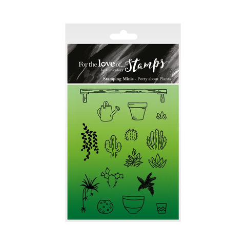 Hunkdory :  For The love of Stamps : Potty about Plants