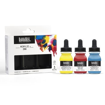 Liquitex Professional Acrylic Ink Set of 3 Essential Colours