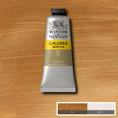 Winsor and Newton Galeria Acrylic Gold